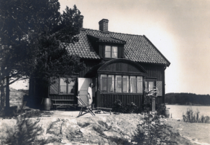 "Arkitekt Agnar August Palmérs lantställe ""Stentäppa"""